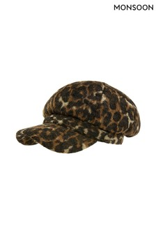 Monsoon Multi Annie Animal Baker Boy Hat