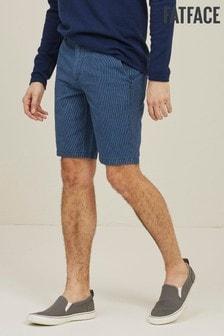 FatFace Blue Whitby Indigo Stripe Shorts