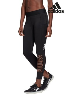 adidas Black Alpha Skin 7/8 Leggings