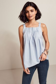 Pleated Front Cami