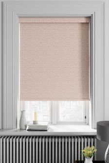 Speckle Blush Pink Made To Measure Roller Blind