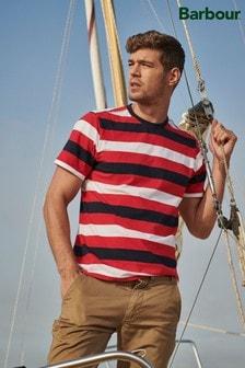 Barbour® Red Duridge Stripe T-Shirt