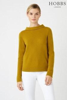 Hobbs Yellow Audrey Sweater