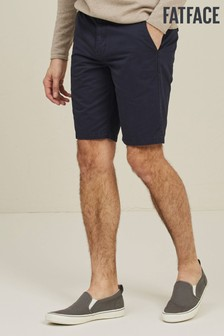 FatFace Blue Whitby Lightweight Chino Shorts