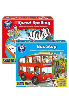 Orchard Toys Fun Maths And Spelling 2 Pack