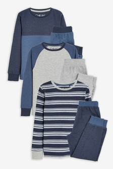 3 Pack Pyjamas (3-16yrs)