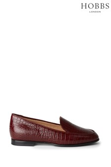 Hobbs Red Hattie Loafers