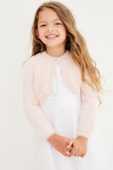 Sparkle Fluffy Shrug Cardigan (12mths-16yrs)