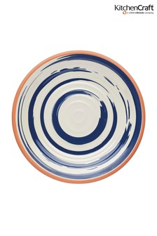 Set of 4 Kitchencraft Lulworth Melamine Dinner Plates