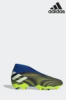 adidas Black Kids Nemeziz P3 Laceless Football Boots