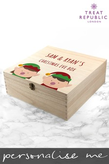 Personalised Christmas Eve Box by Treat Republic