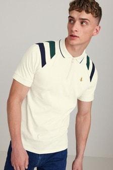 Zip Neck Polo Shirt