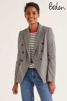 Boden Grey Addlestone Tweed Blazer