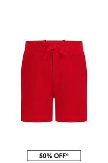 Ralph Lauren Kids Baby Boys Navy Cotton Shorts