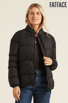 FatFace Black Sophie Padded Coat