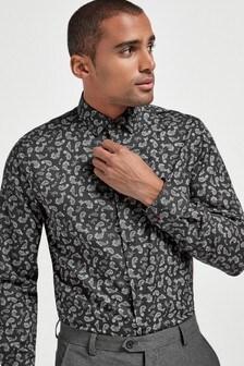 Printed Shirt With Trim Detail