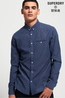 Superdry Premium University Long Sleeve Shirt
