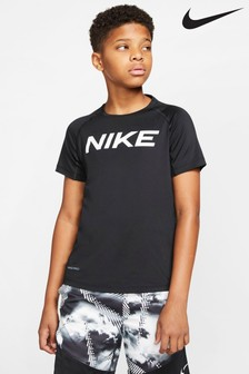 Nike Black Logo Performance T-Shirt