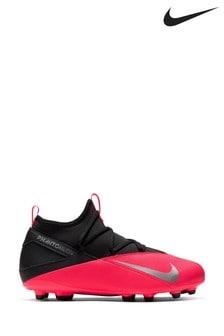 Nike Red Phantom Vision Club Fg Junior & Youth Football Boots