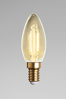 2W LED SES Retro Candle Bulb
