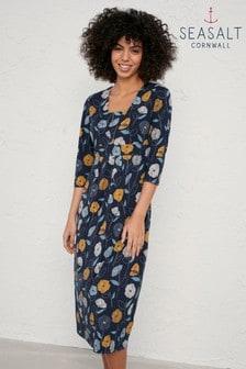 Seasalt Blue Seed Packet Dress