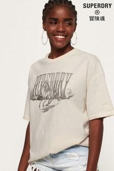 Superdry Boyfriend Band Graphic T-Shirt