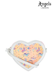 Angels by Accessorize Silver Heart Hero Unicorn Body Bag