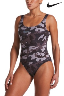 Nike Camo U-Back Swimsuit
