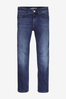 Calvin Klein Jeans Slim Fit Jeans für Jungen, Blau