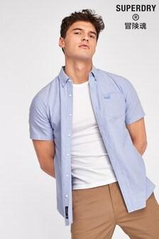 Superdry Blue Short Sleeve Shirt
