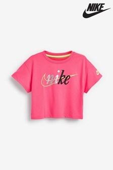Nike Little Kids Pink Boxy T-Shirt