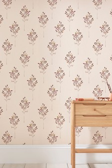 Paste The Wall Inky Tree Wallpaper