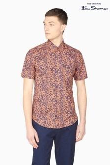 Ben Sherman Anise Floral Print Shirt