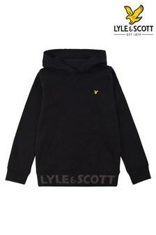 Lyle & Scott Black Bottom Branded OTH Hoody