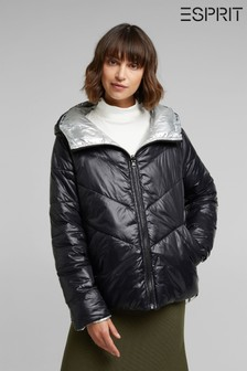Esprit Black Padded Winter Jacket