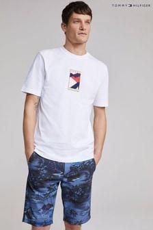 Tommy Hilfiger White Icon Flag T-Shirt