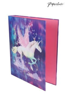 2 Pack Paperchase Unicorn Ringbinder Set
