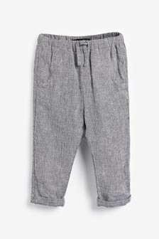 Linen Mix Trousers (3mths-7yrs)