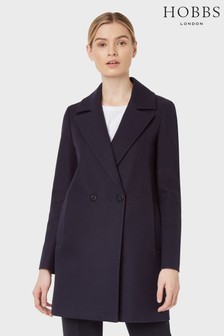 Hobbs Blue Melia Coat