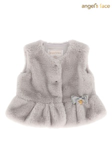 Angel's Face Silver Gilet