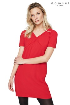 Damsel In A Dress Red Harper Shift Dress