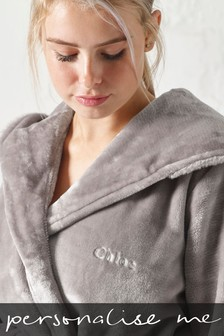 Personalised Grey Robe
