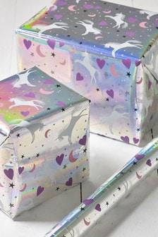 6M Unicorn Wrapping Paper
