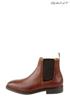 GANT Brown James Chelsea Boots