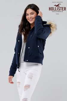 Hollister All Weather Bomber Jacket