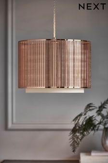 Jednoducho nasaditeľný krytna lampu Jada