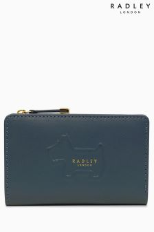 Radley Dark Teal Radley Shadow Medium Ziptop Purse