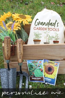 Personalised Garden Tool Set by Signature PG