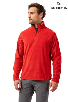 Craghoppers Red Corey Half Zip Fleece