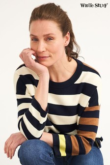 White Stuff White Isabel Stripe Jumper
